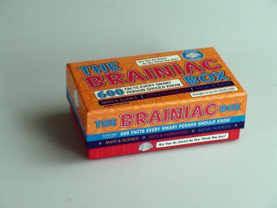 The Brainiac Box: 600 Facts Every Smart Person Should Know [With the Brainiac Box Are You as Smart As...]