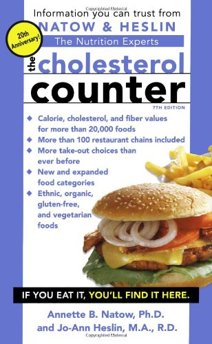 The Cholesterol Counter 9781416509851