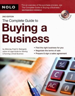 The Complete Guide to Buying a Business [With CDROM] 9781413307078