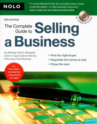The Complete Guide to Selling a Business [With CDROM] 9781413307061