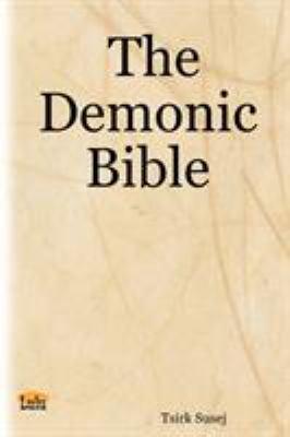 The Demonic Bible 9781411635760