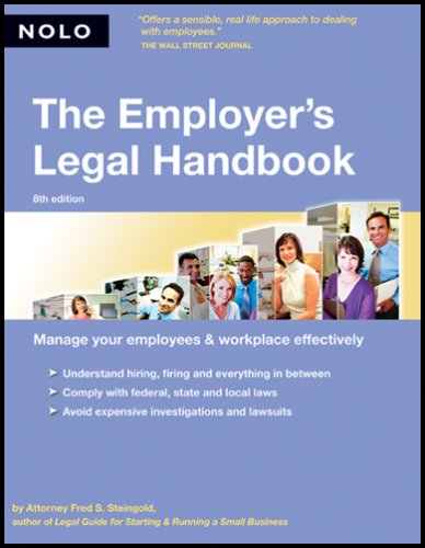 The Employer's Legal Handbook 9781413304565