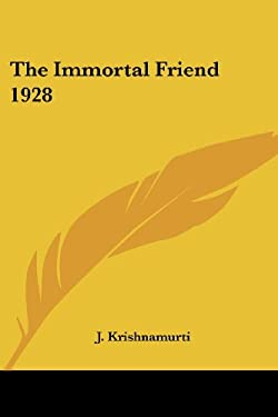 The Immortal Friend 1928 9781417978557