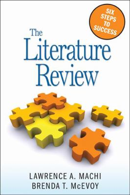 The Literature Review: Six Steps to Success 9781412961356