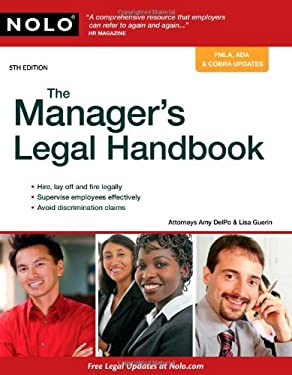 The Manager's Legal Handbook 9781413310702