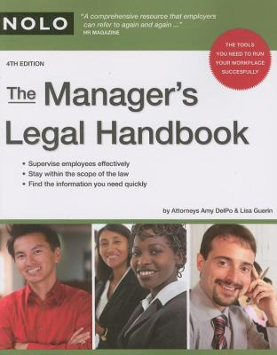 The Manager's Legal Handbook 9781413307184