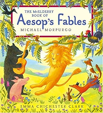 The McElderry Book of Aesop's Fables 9781416902904