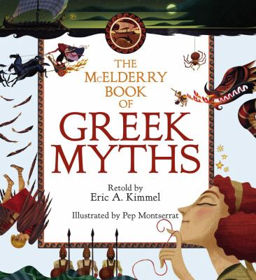 The McElderry Book of Greek Myths 9781416915348