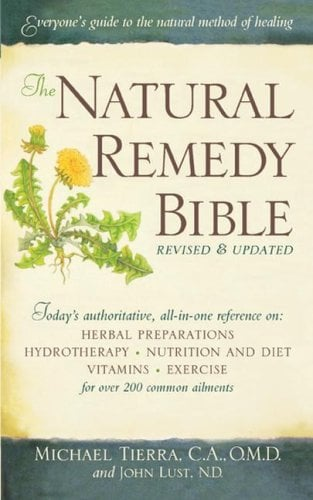 The Natural Remedy Bible 9781416592990