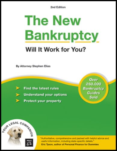 The New Bankruptcy: Will It Work for You? 9781413306330