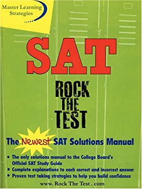 The New SAT Solutions Manual to the College Board's Official Study Guide 9781411668485