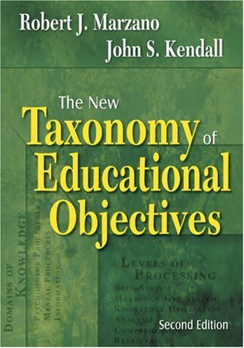 The New Taxonomy of Educational Objectives 9781412936293