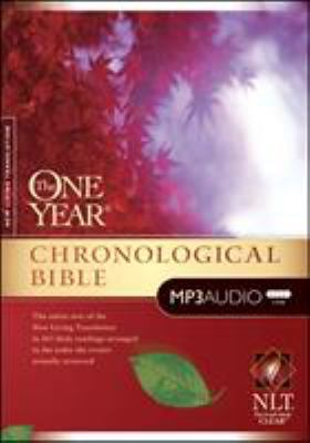 One Year Chronological Bible-NLT 9781414336527
