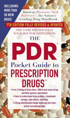 The PDR Pocket Guide to Prescription Drugs 9781416510857