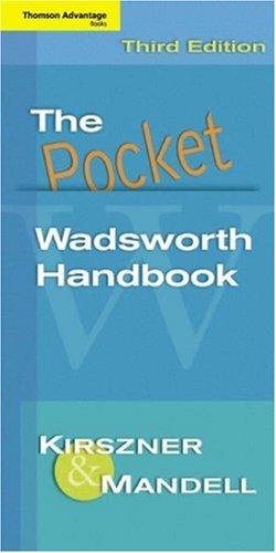 The Pocket Wadsworth Handbook 9781413011685