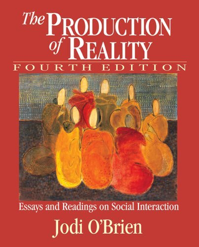 production reality essays readings social psychology The social production of altruism: motivations for caring action in a low-income urban community jacqueline s mattis department of applied psychology, new york university, 239 greene street 4th floor, new york, ny 10003, usa wizdom powell hammond department of health behavior and health education,.