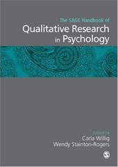 The Sage Handbook of Qualitative Research in Psychology 6186627