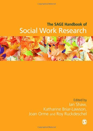 The Sage Handbook of Social Work Research 9781412934985