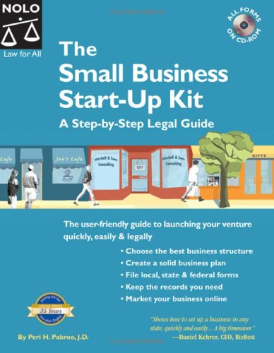 The Small Business Start-Up Kit [With CDROM] 9781413304121