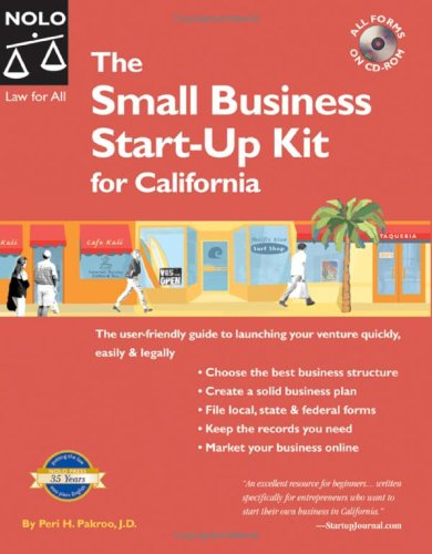 The Small Business Start-Up Kit for California [With CDROM] 9781413304435