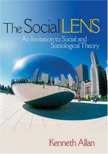 The Social Lens 9781412914109