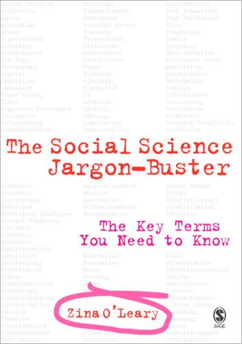 The Social Science Jargon Buster: The Key Terms You Need to Know 9781412921770