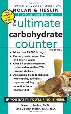 The Ultimate Carbohydrate Counter 9781416570370