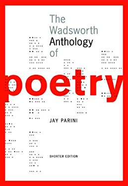 The Wadsworth Anthology of Poetry, Shorter Edition [With CDROM] 9781413004748
