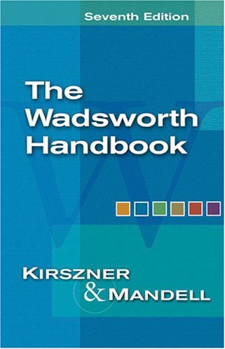 The Wadsworth Handbook 9781413001921