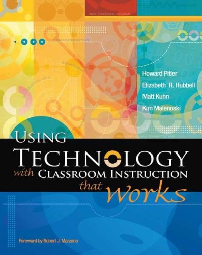 Using Technology with Classroom Instruction That Works 9781416605706