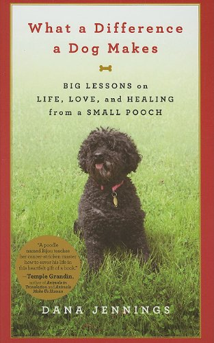What a Difference a Dog Makes: Big Lessons on Life, Love, and Healing from a Small Pooch 9781410431783