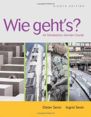Wie Geht's?: An Introductory German Course [With CD] 9781413012828
