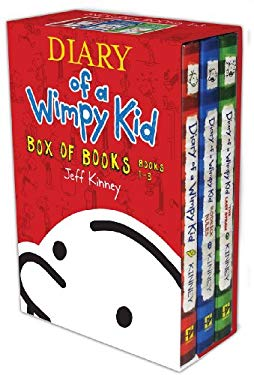 Wimpy Kid Box Set 1-3 9781419707667