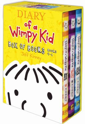 Wimpy Kid Box Set 4-6 9781419707674