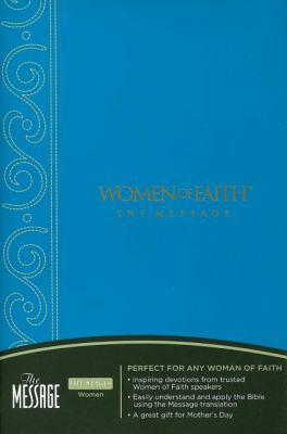 Women of Faith Message Bible-MS 9781418530341