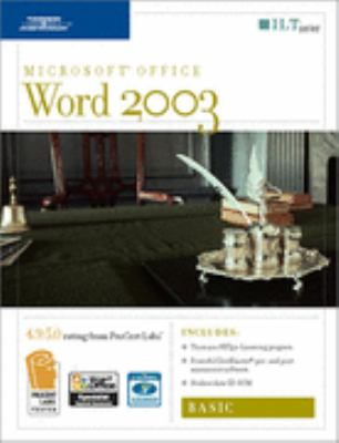 Word 2003: Basic [With 2 CDROMs] 9781418889548