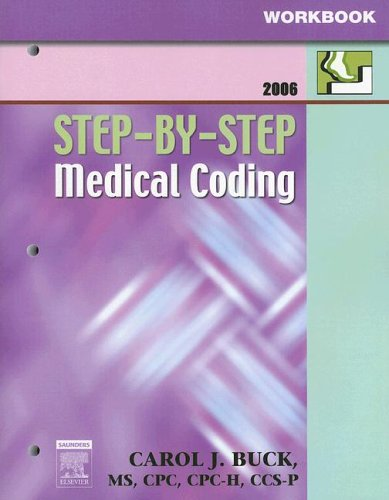 Workbook for Step-By-Step Medical Coding 9781416001362