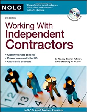 Working with Independent Contractors [With CDROM] 9781413306576