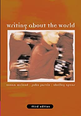 Writing about the World (with Infotrac) [With Infotrac] 9781413002386