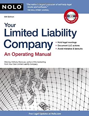 Your Limited Liability Company: An Operating Manual [With CDROM] 9781413312096