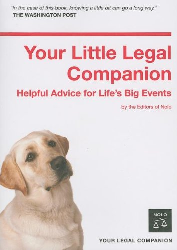 Your Little Legal Companion: Helpful Advice for Life's Big Events 9781413306729