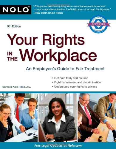 Your Rights in the Workplace 9781413312102