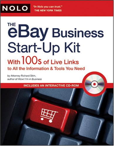 eBay Business Start-Up Kit: With 100s of Live Links to All the Information & Tools You Need [With CDROM] 9781413308655
