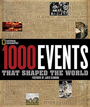 1000 Events That Shaped the World 9781426203145