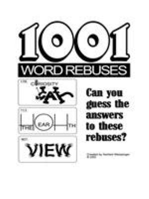 1001 Word Rebuses 9781420871333