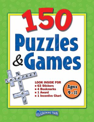 150 Puzzles & Games, Ages 9-11 9781420631821