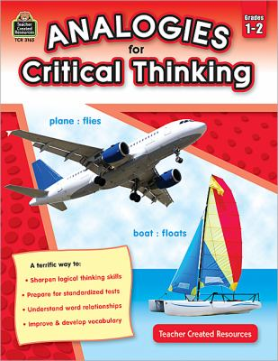 Analogies for Critical Thinking, Grades 1-2 9781420631654