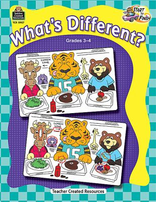 What's Different?, Grades 3-4 9781420659078