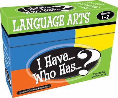I Have... Who Has...? Language Arts Interactive Game Cards, Grades 1-2 9781420678154