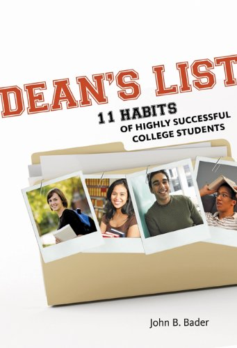 Dean's List: Eleven Habits of Highly Successful College Students 9781421400808